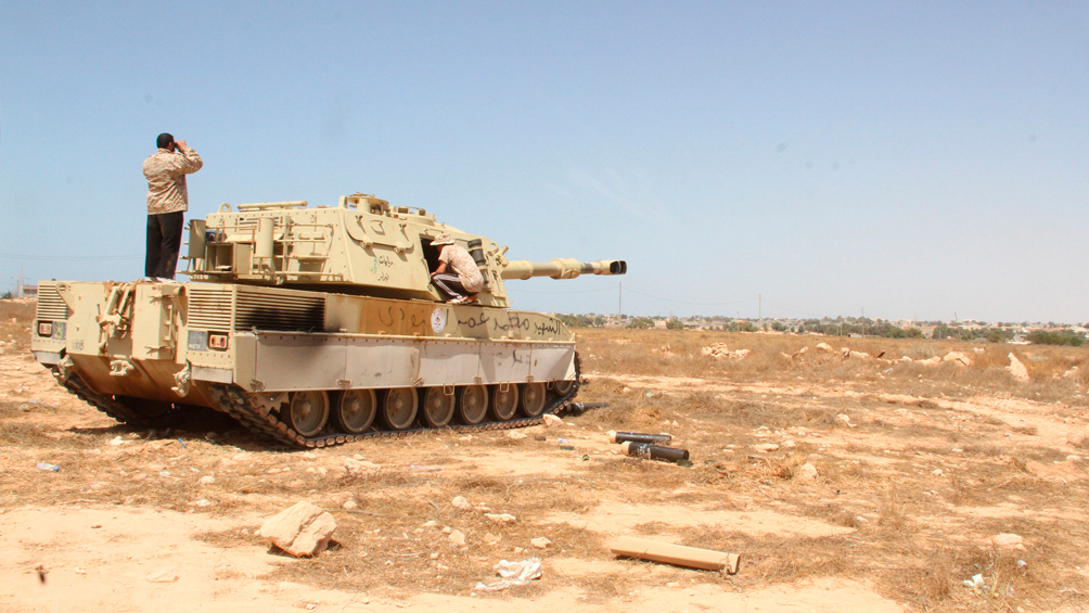 El mariscal Hafter se lanza a conquistar Sirte, el penúltimo muro que protege a Trípoli