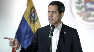 """Guaidó ve """"inverosimil"""" una negociación con el chavismo"""