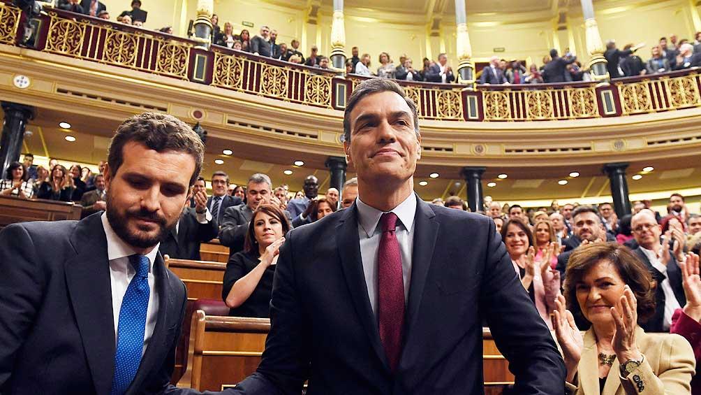 Pedro Sánchez consiguió los votos y volverá a ser presidente