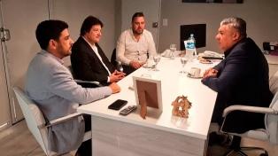 Tapia se reunió con los nuevos responsables de la seguridad