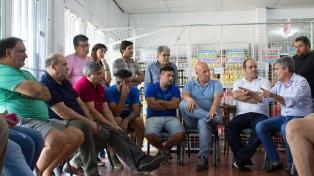 Zabaleta se reunió con comerciantes locales para descuentos a beneficiarios de tarjetas alimentarias