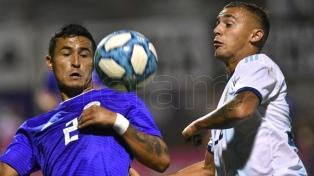 El sub 23 empató ante Paraguay en un amistoso de cara al Preolímpico