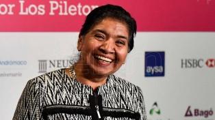 """Margarita Barrientos dijo que la tarjeta alimentaria es una """"mejor"""" iniciativa que un plan social"""