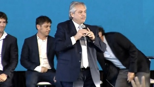 """Fernández: """"Este es el tiempo de construir una Argentina para todos"""""""