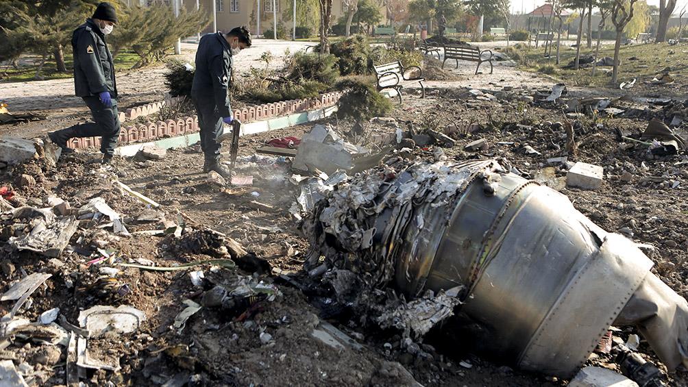 Irán excluye a Ucrania de la investigación del derribo del avión