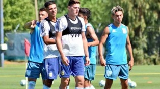 Racing y el seleccionado sub 23 argentino se enfrentaron en Ezeiza