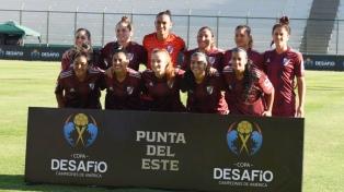 River venció por penales a Nacional en la versión femenina de la Copa Desafío