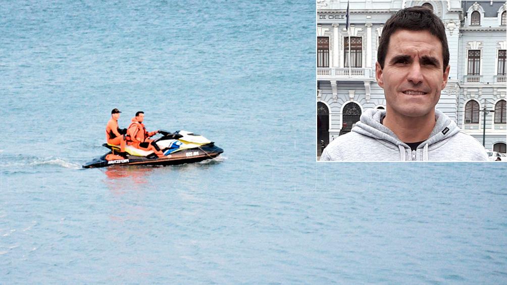 Cuarto día de búsqueda del nadador desaparecido en la competencia Río-Mar 2020