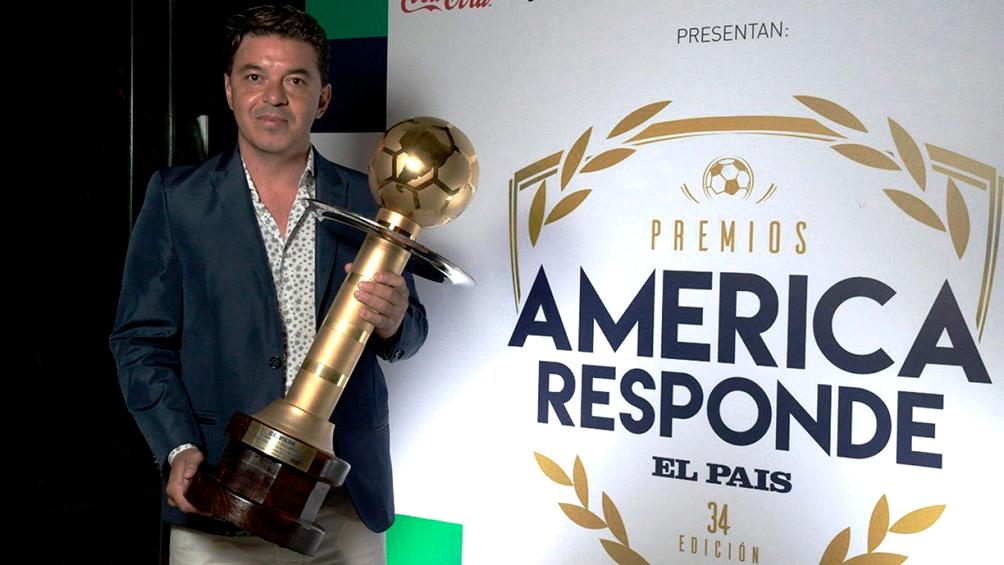 Gallardo elegido como el mejor entrenador de América por segundo año consecutivo