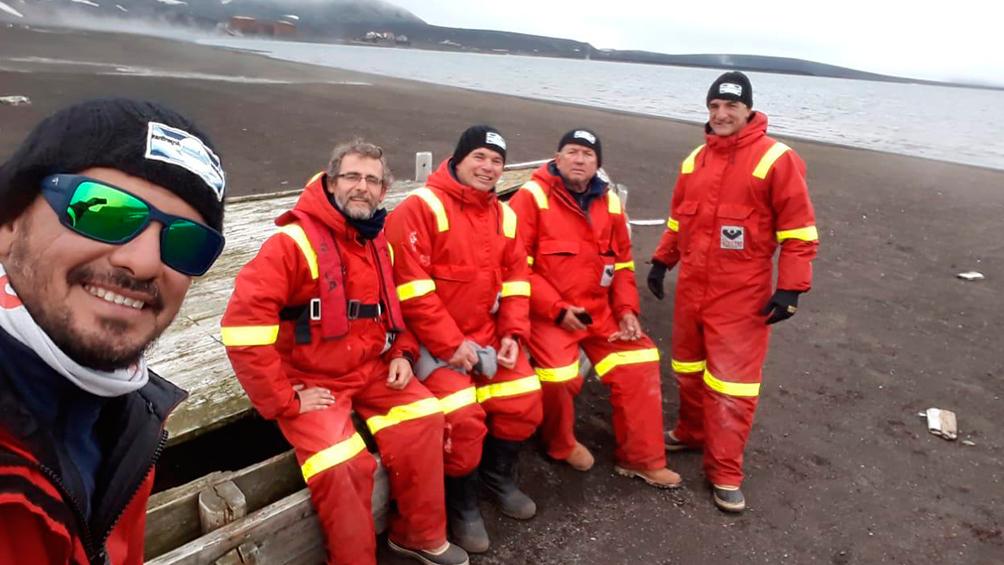 Ya está en la Antártida el velero liderado por un ex combatiente de Malvinas