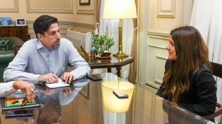 """Trotta se reunió con la Secretaria de Deportes para armar """"una agenda común"""""""