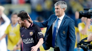 """El nuevo entrenador del Barcelona: """"Messi es especial"""""""
