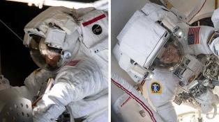 Dos mujeres astronautas realizan la primera caminata espacial del 2020