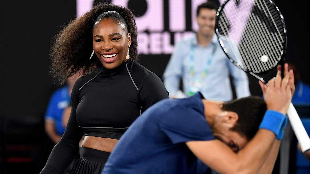 Nadal, Djokovic y Federer realizan exhibición para recaudar fondos por los incendios