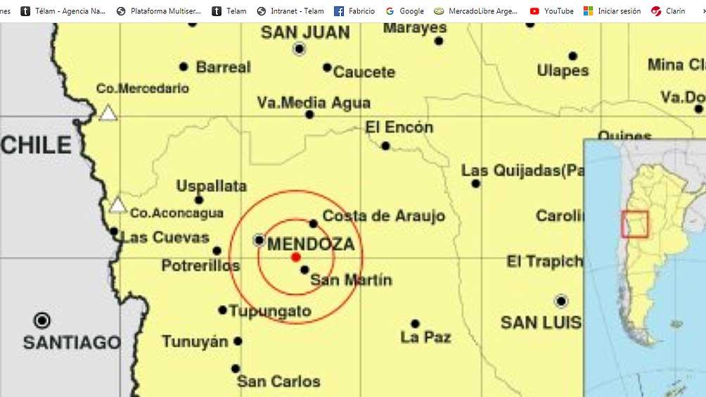 El sismo de 4,8 grados no produjo daños ni afectó a personas