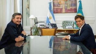 Kicillof se reunió en La Plata con Máximo Kirchner