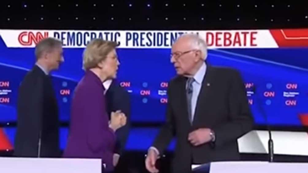 Se tensa la pelea entre los precandidatos progresistas del Partido Demócrata