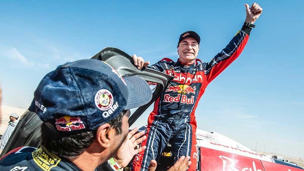 Carlos Sainz ganó el Rally Dakar por tercera vez