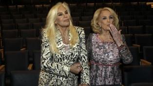 Susana Giménez y Mirtha Legrand en Mar del Plata