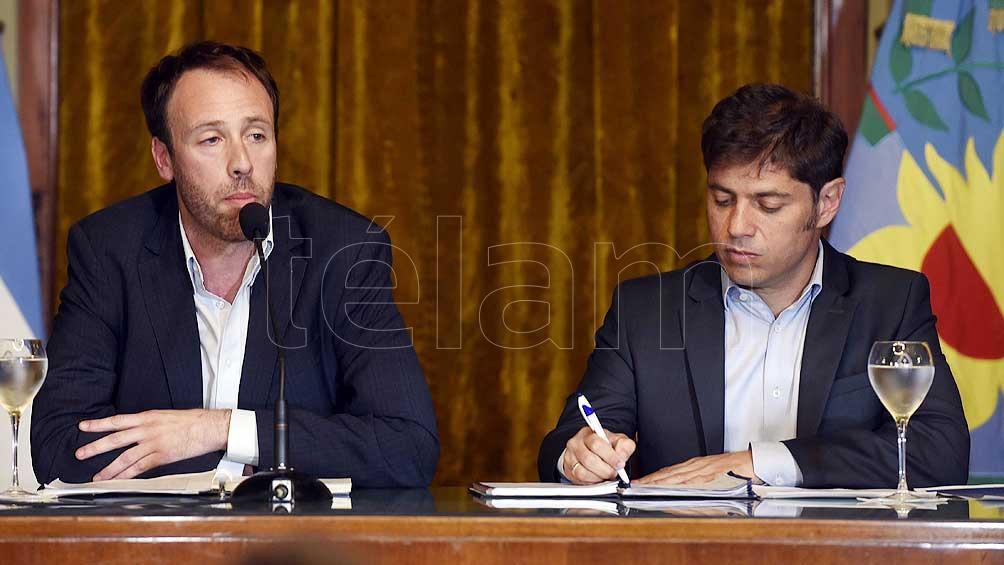 Kicillof dijo que el 5 de febrero será última oportunidad sobre la postergación de pagos de deuda