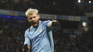Agüero, cuarto goleador en la historia de la Premier League