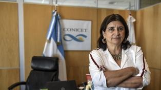 """Ana María Franchi: """"Queremos federalizar el Conicet y bajar la ciencia al territorio"""""""