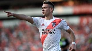 """Borré: """"El tiempo y el equipo ayuda a que sea el goleador"""""""