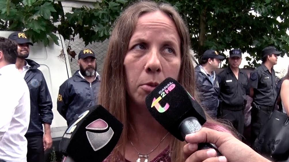 La fiscal Verónica Zamboni
