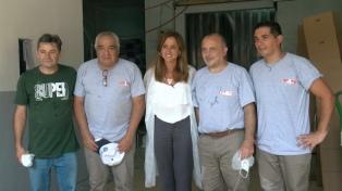 Tolosa Paz visitó La Nueva Litoraleña y sus productos podrían sumarse al plan