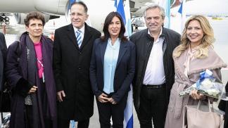 Familiares de víctimas judías de la última dictadura se reúnen con Fernández en Israel