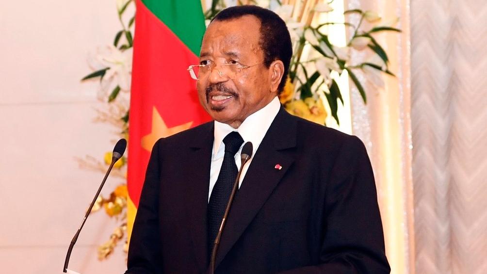 Paul Biya, presidente de Camerún