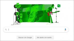 """El cumpleaños 70 de Spinetta llegó con un """"doodle"""" de Google"""