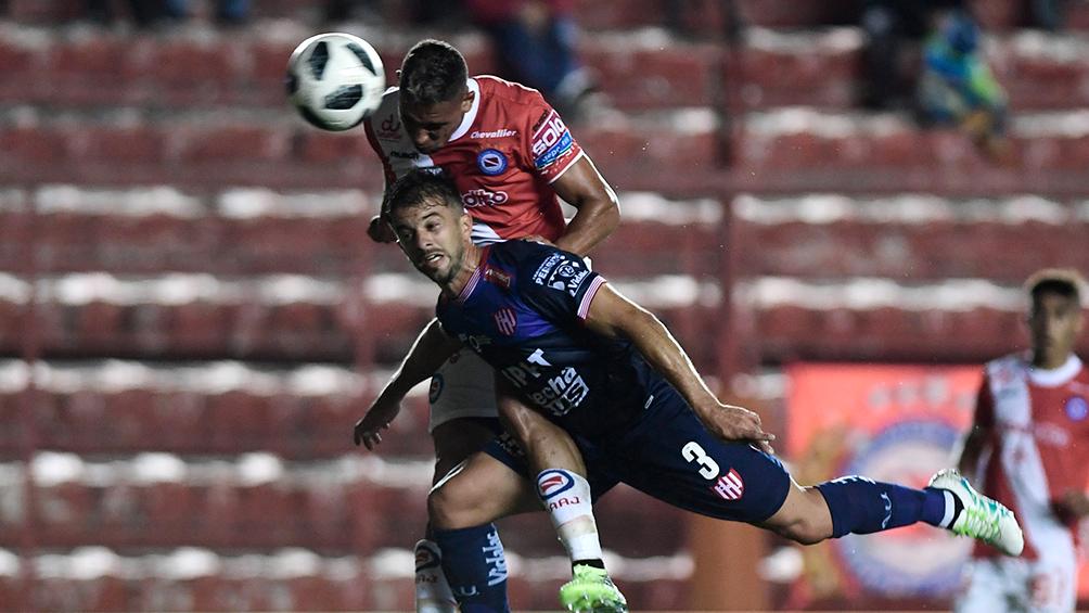 Argentinos Juniors, uno de los punteros de la Superliga, perdió ante Unión
