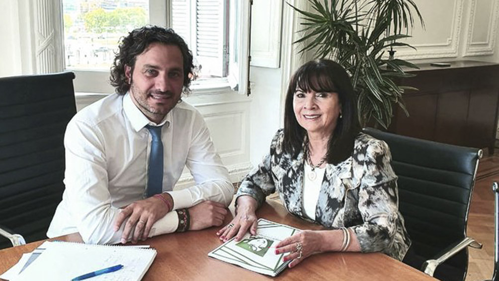 Cafiero recibió a Susana Trimarco, la madre de la joven desaparecida Marita Verón