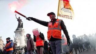 Séptima jornada de protestas contra las reformas impulsadas por Macron