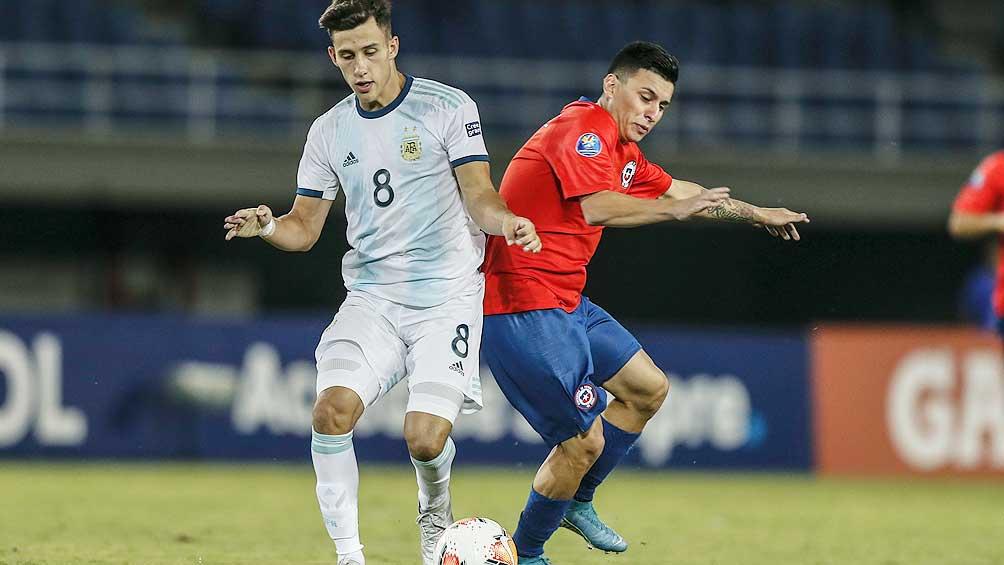 Argentina sumó el segundo triunfo en hilera tras batir a Chile
