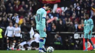 Barcelona sufrió en su visita a Valencia