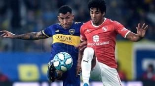 """Boca inició la """"era Russo"""" con un empate con Independiente en la Bombonera"""