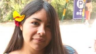Karen Gómez es una de las cuatro estudiantes argentinas que residen en Wuhan.