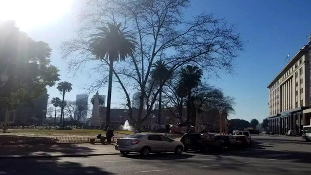 Martes con una máxima de 31° en la ciudad de Buenos Aires