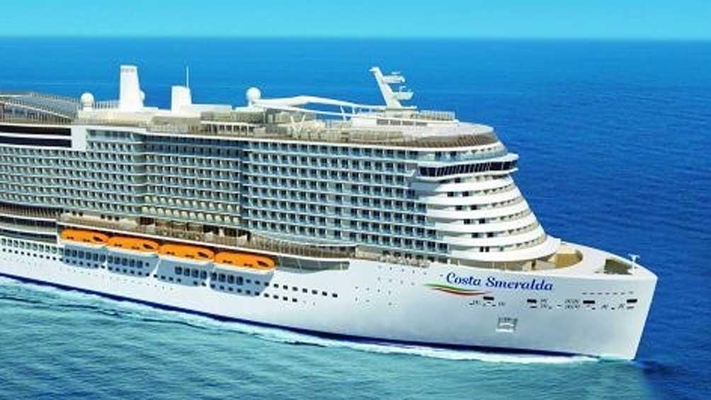 Dieron negativo los primeros análisis a la turista del crucero varado en Italia