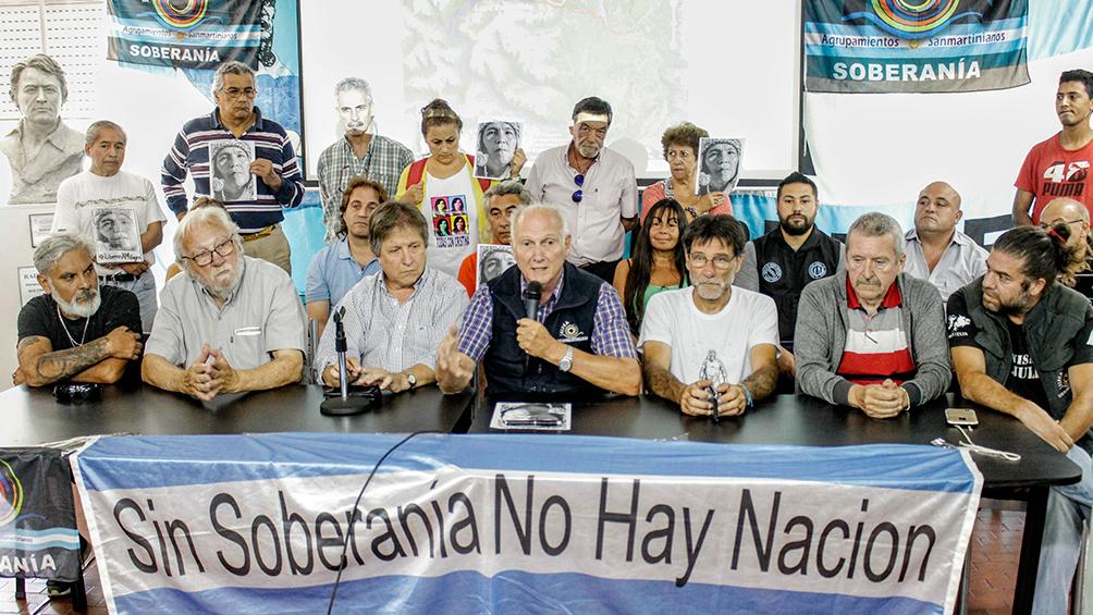 Finaliza la marcha por la soberanía del Lago Escondido