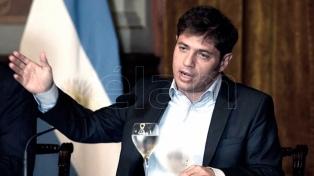 Kicillof dará una conferencia para informar sobre la negociación con los bonistas