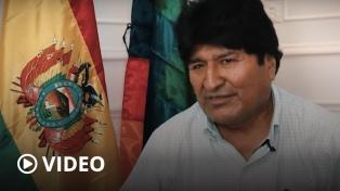 """Evo Morales: """"Mi aspiración es volver a Bolivia"""""""