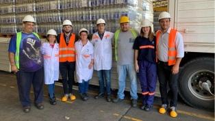 El Grupo Danone dona 108 mil litros de agua envasada para Salta