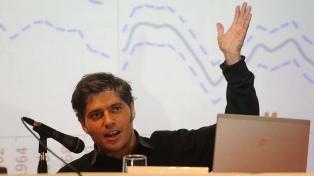Referentes del peronismo respaldaron a Kicillof tras el anuncio del pago