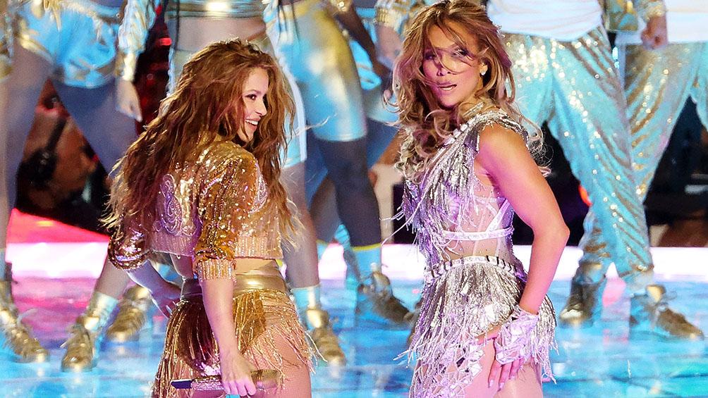 Se disparan las escuchas de Jennifer Lopez y Shakira tras la participación en el Superbowl