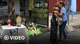 Homenaje a las 10 víctimas del incendio de Iron Mountain, con fuertes críticas a Macri