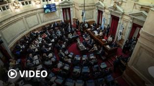 Senadores aprobó por unanimidad el proyecto de Ley de Deuda