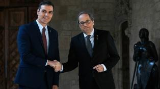 Sánchez presiona a Torra y pide que la mesa de diálogo con Cataluña se celebre el lunes